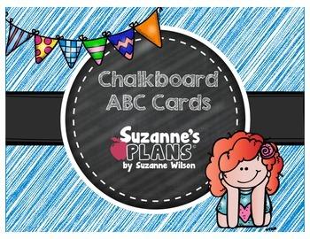 Chalkboard ABC Cards