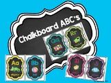 Chalkboard ABC's