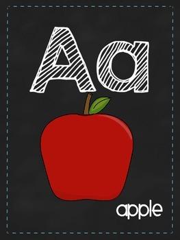 Chalkboard ABCs