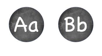 Chalkboard Alphabet!