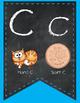 Chalkboard Alphabet Banner