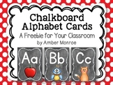 Chalkboard Alphabet Cards {A Freebie for Your Classroom}