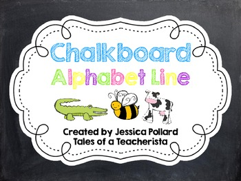 Chalkboard Alphabet Line