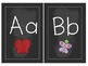 Chalkboard Alphabet & Numbers {white}