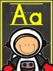 Chalkboard Alphabet Posters - Bold and Bright - MANUSCRIPT EDITION