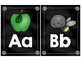 Chalkboard Alphabet Posters (Large & Small)