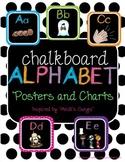 Chalkboard Alphabet Posters/Charts