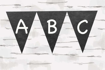 Chalkboard Alphabet, Students chalkboard banner, make your own banner