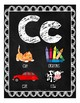 Chalkboard Alphabet and Number Posters