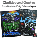 Chalkboard Art Posters - Colored Pencil Graphic Design Pro