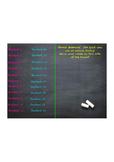 Chalkboard Attendace Promethean Flipchart