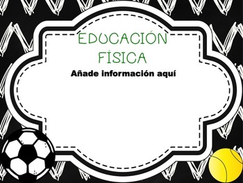 Chalkboard Back to School and Open House PPT Template in Spanish ( EDITABLE )