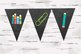Chalkboard Banner Bundle Package with all school supplies, BUNDLE DISCOUNT