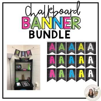 Chalkboard Banner Bundle
