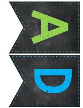 Chalkboard Banner SET 1