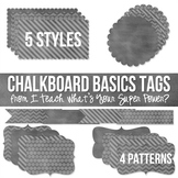 Chalkboard Basics Tags