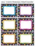 Chalkboard - Bin Labels - Editable