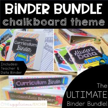 Teacher Binder Bundle