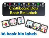 Chalkboard Book Bin Labels