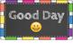 Chalkboard & Bright Clip Chart + Emojis!