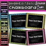Chalkboard Bright Color Theme Behavior Clip Chart Editable
