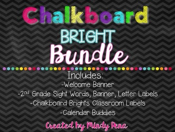 Chalkboard Bright Materials Bundle
