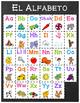 Chalkboard & Brights ABC Posters - SPANISH