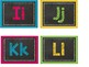 Chalkboard & Brights Alphabet Headers