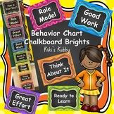 Chalkboard Brights Behavior Chart