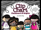 Chalkboard & Brights Behavior Charts