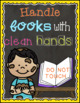 Chalkboard Brights: Book Care Posters