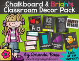 Chalkboard & Brights Classroom Decor Pack {Lots of Ink Version}