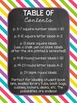 Chalkboard & Brights Classroom Labels