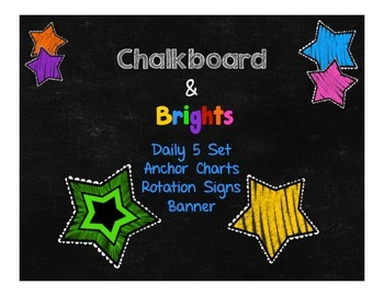 Chalkboard & Brights Daily 5 Set
