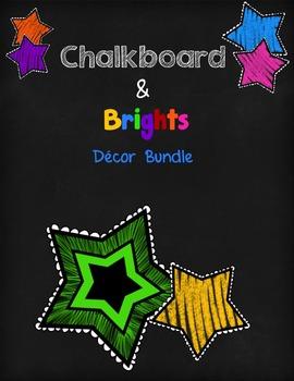 Chalkboard & Brights Decor Bundle