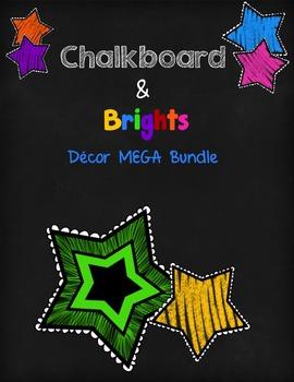 Chalkboard & Brights Decor MEGA Bundle