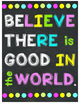Chalkboard & Brights Happy Posters
