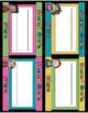 Chalkboard Brights Name Tags and More!