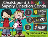 Chalkboard & Brights Supply Direction Cards {Lots of Ink Version}