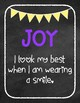 Chalkboard/Brights Themed Fruit of the Spirit Classroom Rules Posters *FREEBIE!*