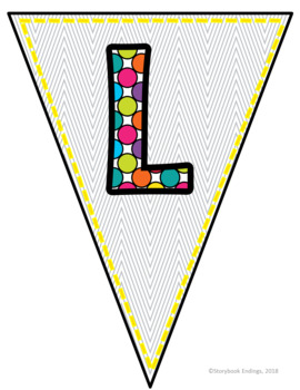 Light & Brights: Welcome Pennant