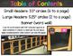 Chalkboard & Brights Word Wall Headers {Lots of Ink Version}