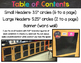 Chalkboard & Brights Word Wall Headers
