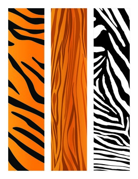 Safari/Jungle Bulletin Board Border - Rectangular