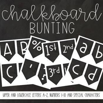 Chalkboard Bunting
