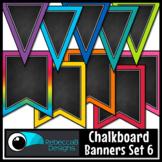 Chalkboard Bunting Clip Art Set 6
