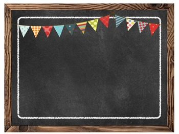 Chalkboard Editable Blank Multipurpose Classroom Sign