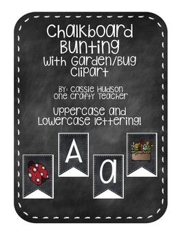 Chalkboard Bunting - Garden Theme Extras!