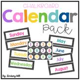Chalkboard Calendar Pack