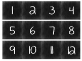 Chalkboard Calendar Printables